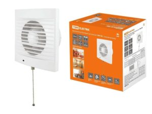 Вентилятор бытовой настенный СВ с выключателем
