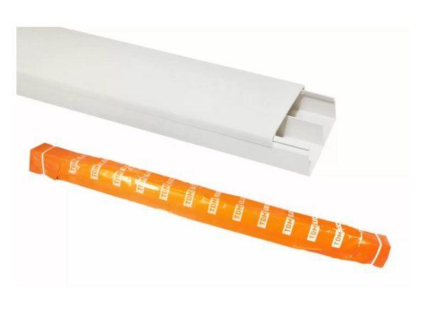 Кабель-канал 60/2х25 белый TDM (32 м) SQ0402-0011