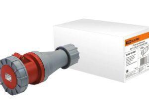 Розетка кабельная IP67 125А 3Р+РЕ 380В TDM SQ0611-0007