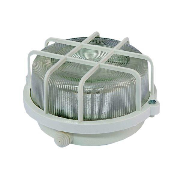 Светильник НПП 03-100-005.04 У3 (корпус и защитная сетка-квадрат, белый) TDM SQ0311-0001