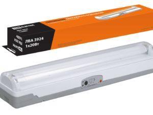 Светильник аварийный ЛБА 3924 непостоянный автономный, 4 ч., 1х20 Вт TDM SQ0308-0002