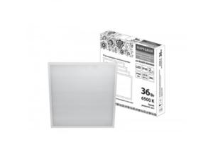 Светодиодная панель универсальная ЛП 03 595х595 Опал 19 мм 36 Вт 2900 Лм, 6500 К, белая, Народная SQ0329-0279