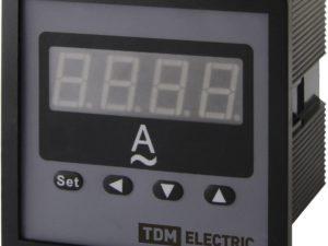 Цифровой амперметр ЦП-А72 0-9999А-0,5-Р TDM; SQ1102-0521