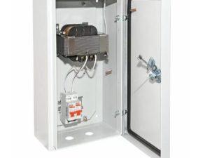 Ящик с понижающим трансформаторомЯТП-0,25 220/36-2авт. IP54 TDM SQ1601-0017