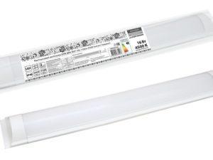 Светодиодный светильник LED ДПО 3017 16Вт 1450лм 4500К Компакт Народный SQ0329-0126