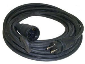 Удлинитель-шнур силовой каучук УШз16-101 IP44 штепс. гнездо с/з, 30м КГ 3х1,5 TDM SQ1302-0343
