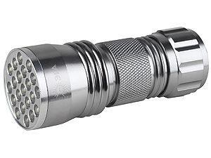 "Фонарь светодиодный ""Металл"", 21 светодиод 63 лм/Вт, бат. 3*AAA TDM SQ0350-0013"
