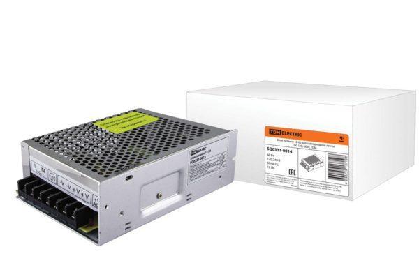 Блок питания 12-60 для светодиодной ленты DC 12В, 60Вт, TDM SQ0331-0014