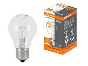 Лампа накаливания общего назначения Б60 Вт-230 В-Е27 TDM SQ0332-0036