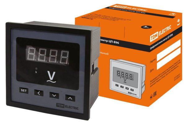 Цифровой вольтметр ЦП-В96 0-999кВ-0,5 TDM SQ1102-0507