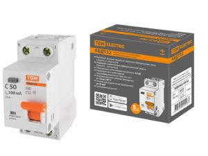 АВДТ 32 C50А 100мА 4,5кА TDM SQ0202-0512