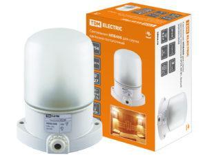 Светильник НПБ400 для сауны настенно-потолочный белый, IP54, 60 Вт, белый, TDM SQ0303-0048