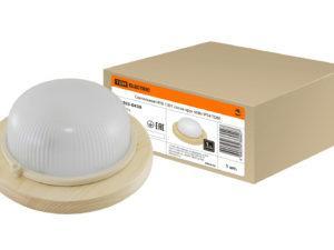 Светильник НПБ1101 сосна круг 100Вт IP54 TDM SQ0303-0424
