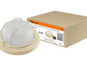 Светильник НПБ1102 сосна круг с реш. 100Вт IP54 TDM SQ0303-0426