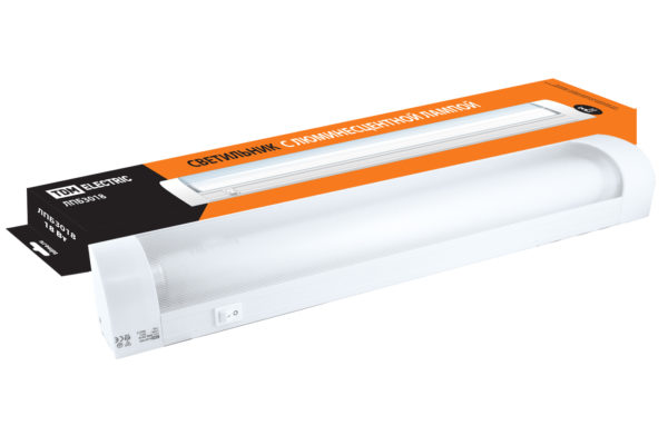 Светильник ЛПБ3018 18 Вт 230В Т8/G13 TDM SQ0305-0047