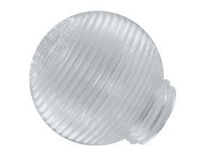 """Рассеиватель шар-стекло (прозрачный) 62-009-А 85 """"Кольца"""" TDM SQ0321-0009"""