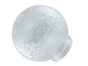 """Рассеиватель шар-стекло (прозрачный) 62-010-А 85 """"Цветочек"""" TDM SQ0321-0010"""