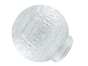 """Рассеиватель шар-стекло (прозрачный) 62-020-А 85 """"Ежик"""" TDM SQ0321-0011"""