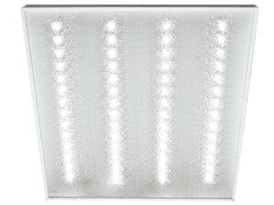 """Светодиодный светильник """"Колотый лёд"""" LED 595 4000лм 40Вт 6000К 595х595 TDM SQ0329-1032"""