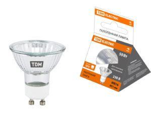 Лампа галогенная с отражателем MR16 (JCDRC) - 50 Вт - 230 В - GU10 TDM SQ0341-0011