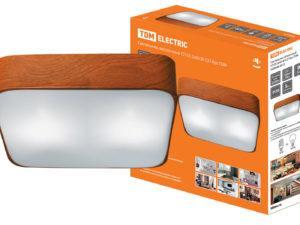 Светильник потолочный СП 05 2х60Вт E27 бук TDM SQ0346-0013