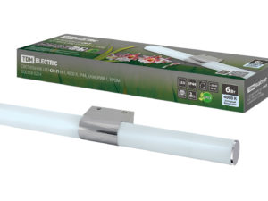 Светильник LED CH-П 6Вт, 4000 К, IP44, Камбрия-1, хром TDM SQ0358-0214