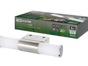 Светильник LED CH-П 5Вт, 4000 К, IP44, Камбрия-2, хром TDM SQ0358-0215