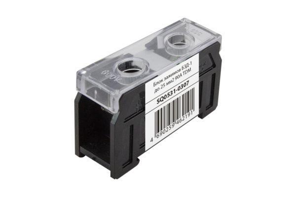 Блок зажимов БЗД-1 до 25 мм2 90A TDM SQ0531-0307