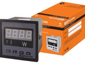 Цифровой ваттметр (однофазный) ЦП-ВТ72/1 0-9999МВт-220В-0,5 TDM SQ1102-0510