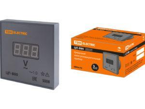 Цифровой вольтметр ЦП-В80 500В-1,0 (без поверки) TDM SQ1102-0520