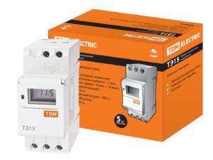 Таймер электронный ТЭ15-1мин/7дн-16on/off-16А-DIN TDM SQ1503-0005