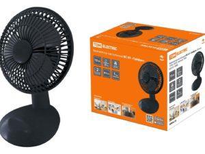 """Вентилятор настольный ВС-02 """"Тайфун"""" D15 см, 20 Вт, 230 В, черный, TDM SQ2701-0003"""