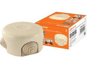 Коробка распаячная фарфоровая D7,8х4,5см «ЭКО» сосна TDM SQ2802-0012