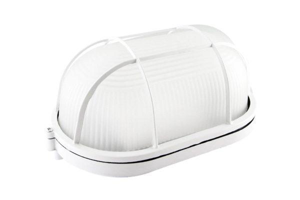 Светильник НПБ1402 белый/овал с реш. 60Вт IP54 TDM SQ0303-0036