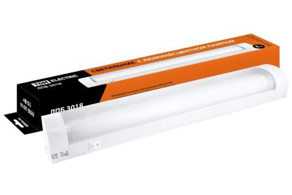 Светильник ЛПБ3018 15 Вт 230В Т8/G13 TDM SQ0305-0046
