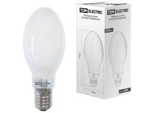 Лампа ртутная высокого давления ДРЛ 250 Вт Е40 TDM SQ0325-0009