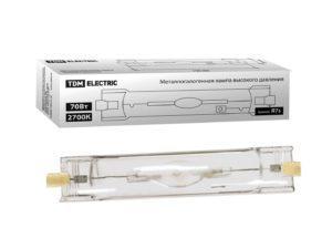 Лампа металлогалогенная ДРИ 70 2700 К Rх7s TDM SQ0325-0011