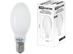 Лампа ртутная высокого давления прямого включения ДРВ 1000 Вт Е40 TDM SQ0325-0023
