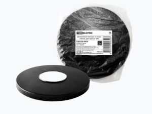 Декоративная накладка на опору d-60 мм, цвет черный, TDM SQ0330-0419