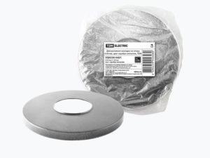 Декоративная накладка на опору d-60 мм, цвет серебро металлик, TDM SQ0330-0421