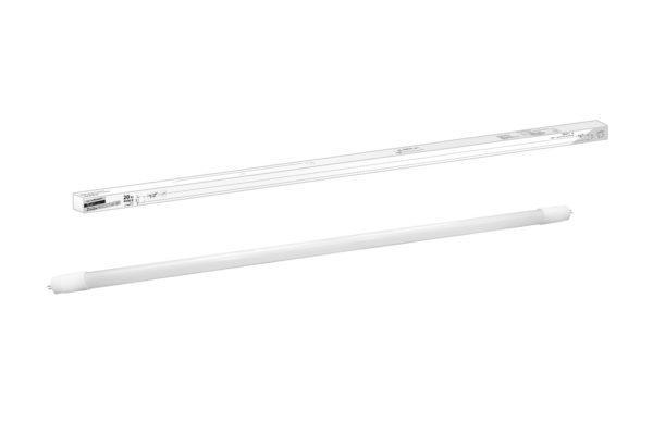 Лампа светодиодная НЛ-Т8-20 Вт-230 В-6500 К–G13, 1200 мм, матовая, стекло, непов. Народная SQ0340-1504