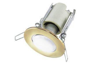 Светильник встраиваемый СВ 01-03 R50 60Вт Е14 бронза TDM SQ0359-0031