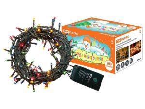 Гирлянда новогодняя, МГ 300, 220 В, многоцветная, 15 м, 8 режимов TDM SQ0361-0007
