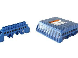 Шины нулевые в изоляторе на DIN-рейку