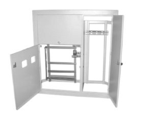 Корпус щита этажного 2 кв. (1015х955х160) TDM SQ0905-0161