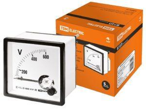 Вольтметр В72П 600В-1,5 TDM SQ1102-0136