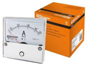 Амперметр А80П 50А-2,5, (поверенный), TDM SQ1102-0242