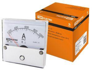 Амперметр А80 1000А/5А-2,5 (поверенный), TDM SQ1102-0248