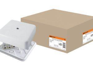 Коробки распаячные открытой установки IP40 - цвет белый