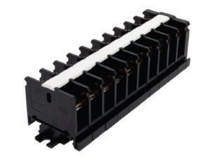 Блок зажимов наборный БЗН 20А на DIN-рейку 10 пар TDM SQ0531-0202